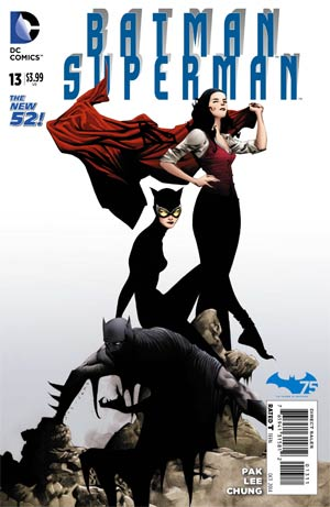 Batman Superman #13 Cover A Regular Jae Lee Cover