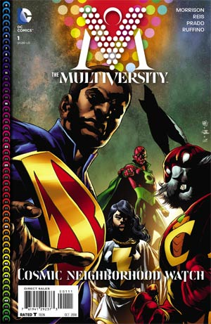 Multiversity #1 Cover A Regular Ivan Reis Cover