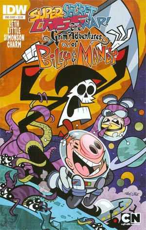 Super Secret Crisis War Grim Adventures Of Billy & Mandy #1 Cover A Regular Troy Little Cover