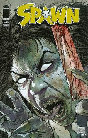 Spawn #246 Cover A Regular Szymon Kudranski Cover