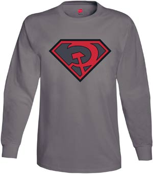 Superman Red Son Symbol Long Sleeve Small