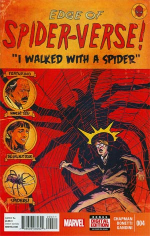 Edge Of Spider-Verse #4 Cover A 1st Ptg Regular Garry Brown Cover