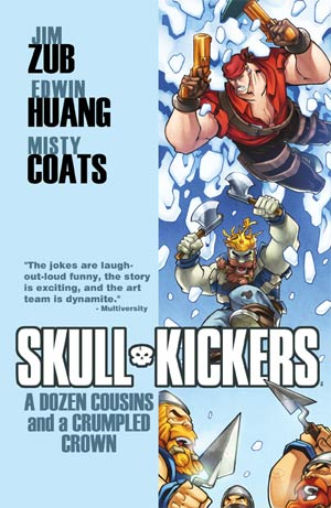 Skullkickers Vol 5 A Dozen Cousins And A Crumpled Crown TP