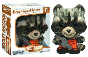 Fabrikations 11 Guardians Of The Galaxy Rocket Raccoon 6-Inch Sculpted Plushie