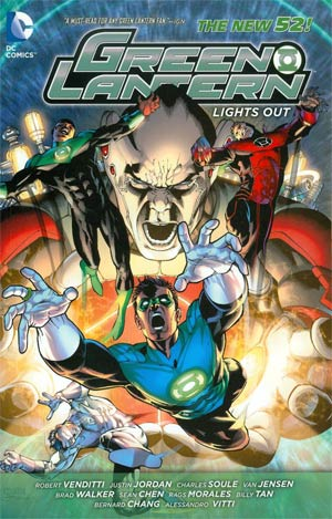 Green Lantern Lights Out TP (New 52)