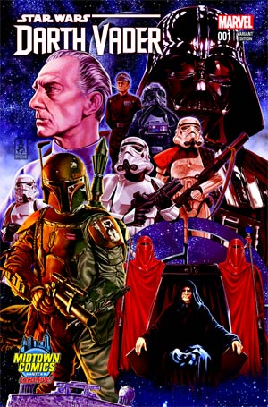 Darth Vader #1 Cover B Midtown Exclusive Mark Brooks Connecting Color Variant Cover (Part 2 of 3)