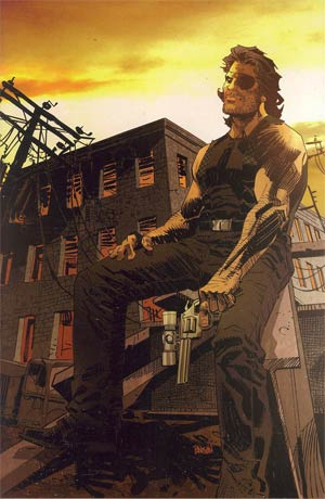 Escape From New York #2 Cover C Incentive Dan Panosian Virgin Variant Cover