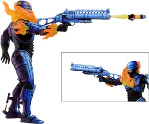 Robocop vs Terminator Video Game Rocket Launcher Robocop 7-Inch Action Figure