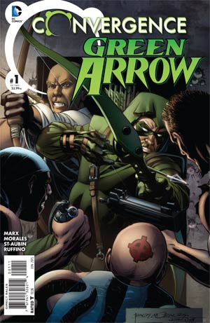 Convergence Green Arrow #1 Cover A Regular Rags Morales Cover