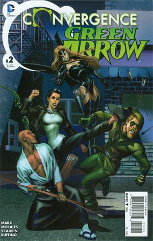 Convergence Green Arrow #2 Cover A Regular Rags Morales Cover