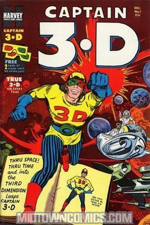 Captain 3-D #1