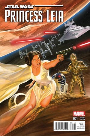 Princess Leia #1 Cover M Incentive Alex Ross Color Cover