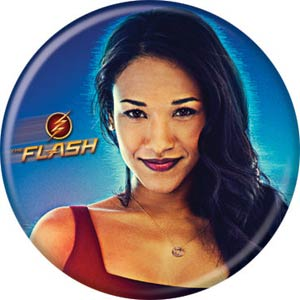 DC Comics 1.25-inch Button - Flash TV Iris West (84368)