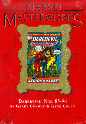Marvel Masterworks Daredevil Vol 9 HC Variant Dust Jacket
