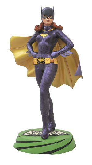 Batman 1966 Premier Collection Batgirl Statue