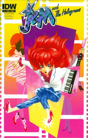 Jem And The Holograms #1 Cover C Regular Amy Mebberson Kimber Benton Cover