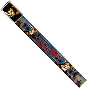 DC Comics 1.5-Inch Web Belt Full Color Buckle - Harley Quinn Bombshell