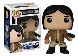 POP Television 228 Battlestar Galactica Classic Apollo Vinyl Figure