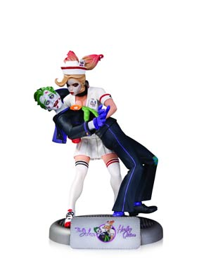 DC Comics Bombshells Joker And Harley Quinn Statue 1st Edition