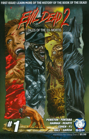 Evil Dead 2 Tales Of The Ex-Mortis #1