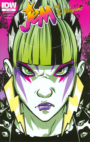 Jem And The Holograms #6 Cover A Regular Sophie Campbell Cover