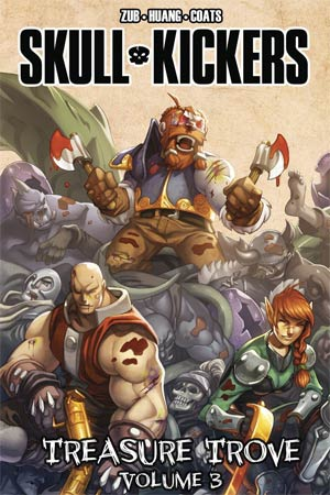 Skullkickers Treasure Trove Vol 3 HC