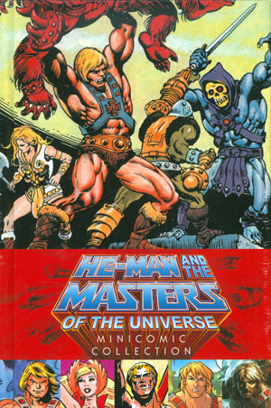 He-Man And The Masters Of The Universe Minicomic Collection HC