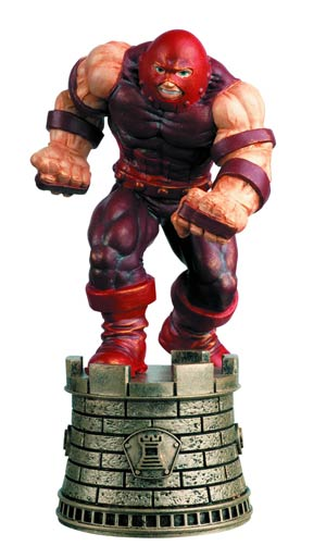 Marvel Chess Figure Collector Magazine #42 Juggernaut Black Rook