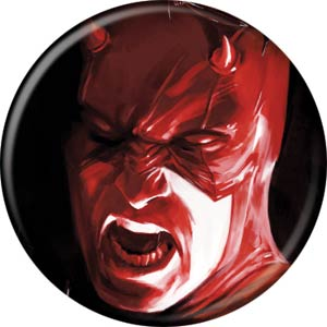 Marvel Comics 1.25-inch Button - Daredevil Screaming (84682)