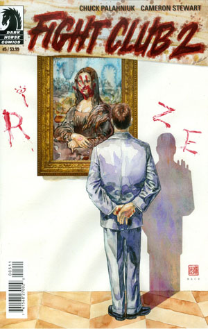 Fight Club 2 #5 Cover A Regular David Mack Cover