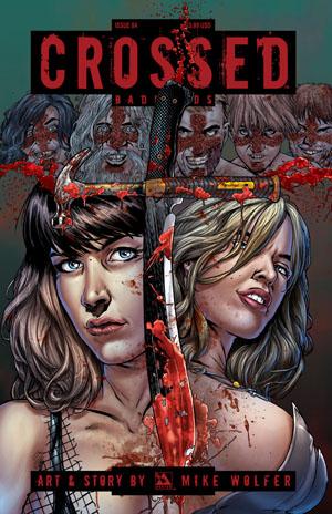 Crossed Badlands #84 Cover A Regular Cover