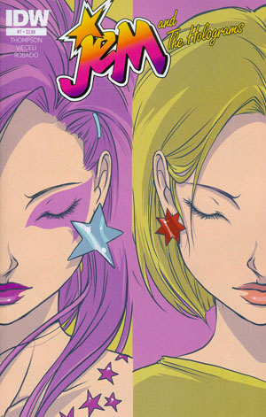 Jem And The Holograms #7 Cover A Regular Emma Vieceli Cover