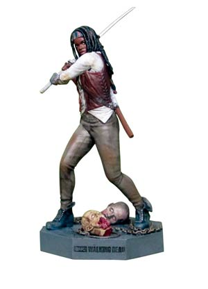 Walking Dead Figurine Collection Magazine #3 Michonne