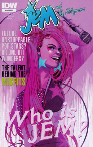 Jem And The Holograms #5 Cover C Incentive Stephanie Hans Variant Cover