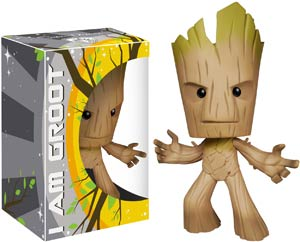 Super Deluxe Guardians Of The Galaxy Groot Vinyl Figure