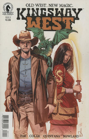 Kingsway West #1 Cover A Regular Mirko Colak Cover