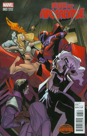 Age Of Apocalypse Vol 2 #3 Cover B Incentive Variant Cover (Secret Wars Warzones Tie-In)