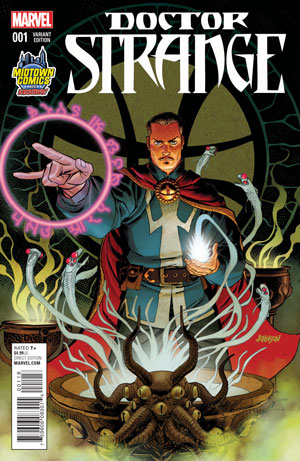Doctor Strange Vol 4 #1 Cover B Midtown Exclusive Dave Johnson Variant Cover
