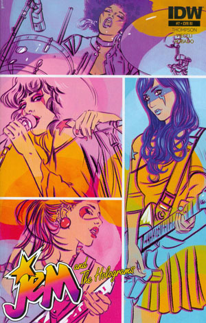 Jem And The Holograms #7 Cover C Incentive Paulina Ganucheau Variant Cover