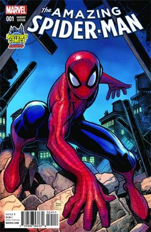 Amazing Spider-Man Vol 4 #1 Cover B Midtown Exclusive Arthur Adams Variant Cover