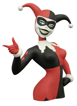 Batman The Animated Series Harley Quinn Bust Bank