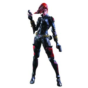 Marvel Comics Variant Play Arts Kai Action Figure - Black Widow