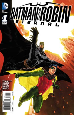 Batman And Robin Eternal #1 Cover C Incentive Mikel Janin Variant Cover
