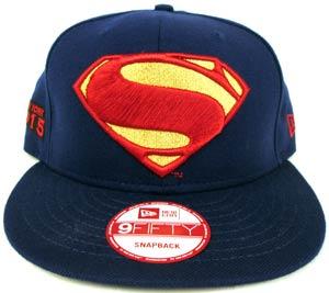 Batman v Superman Superman Symbol Blue 950 Snapback Cap