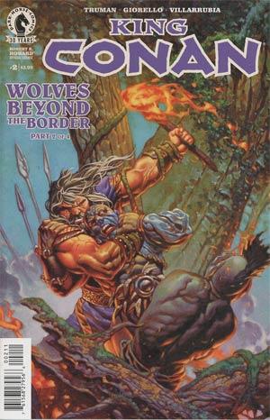 King Conan Wolves Beyond The Border #2