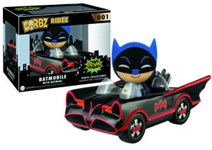 Dorbz Ridez 001 Batman 66 Batmobile Vinyl Figures