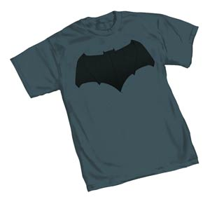 Batman v Superman Batman Symbol Womens T-Shirt Large