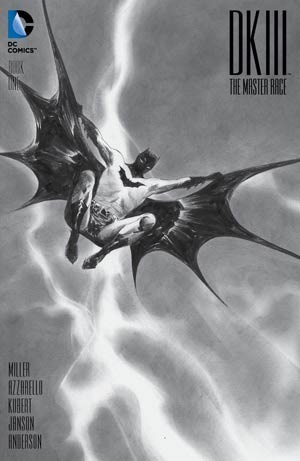 Dark Knight III The Master Race #1 Cover Z-C DF Exclusive Jae Lee Black & White Variant Cover CGC