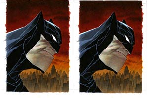 Dark Knight III The Master Race #1 Cover V DF Exclusive Bruce Timm Variant Cover Dual Pack