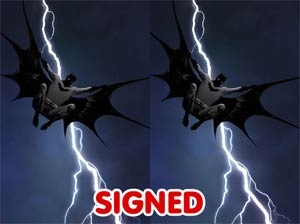 Dark Knight III The Master Race #1 Cover Z DF Exclusive Jae Lee Color Variant Cover Signed By Jae Lee Dual Pack